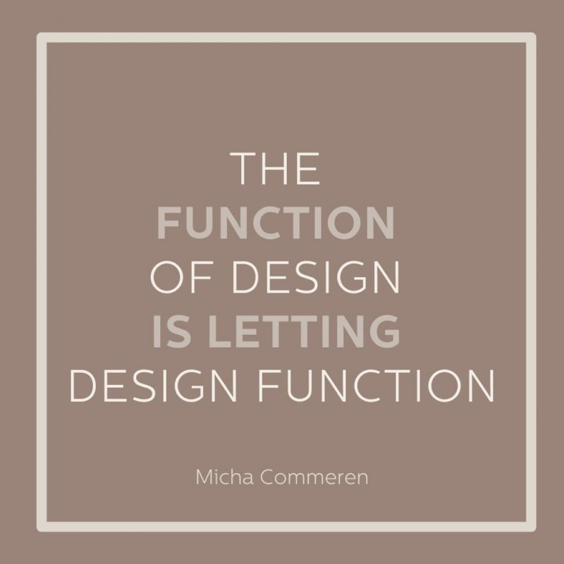 Function of Design